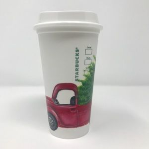 Starbucks cup HAND PAINTED